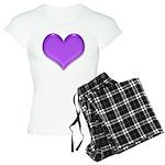 Purple Heart Women's Light Pajamas
