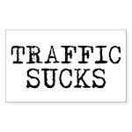 Traffic Sucks Rectangle Sticker