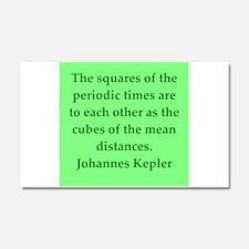 Johannes Kepler quotes Car Magnet 20 x 12