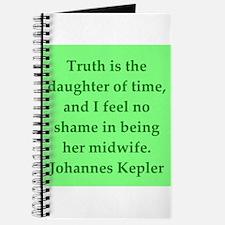 Johannes Kepler quotes Journal