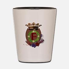 F Crest Shot Glass
