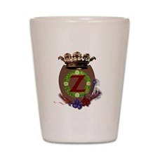 Z Crest Shot Glass