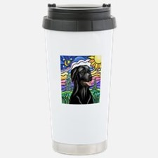 Country (L1) - Black Lab Stainless Steel Travel Mu