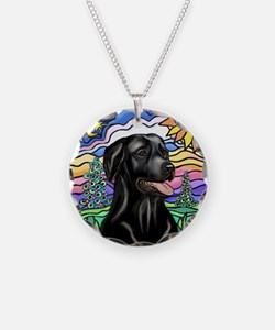 Country (L1) - Black Lab Necklace