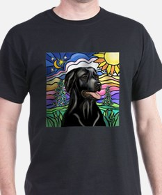 Country (L1) - Black Lab T-Shirt