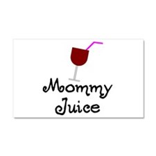 Cute Grape juice Car Magnet 20 x 12