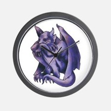 Gargoyle Tattoo Wall Clock