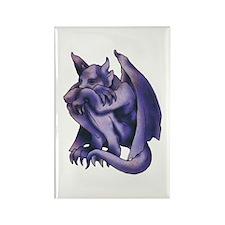 Gargoyle Tattoo Rectangle Magnet (10 pack)