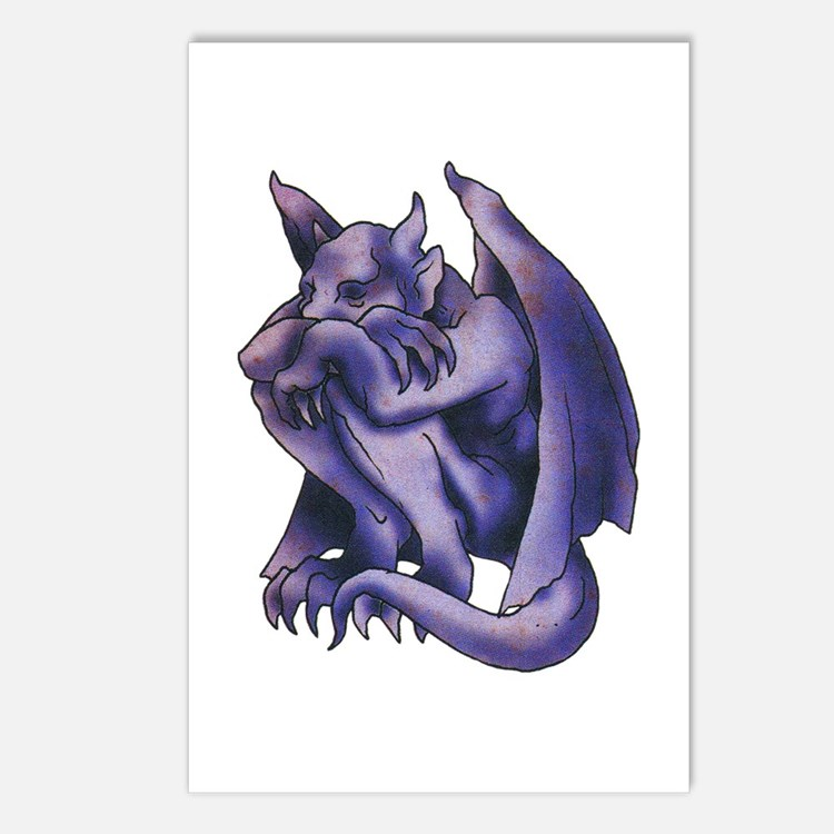 Gargoyle Tattoo Postcards (Package of 8)
