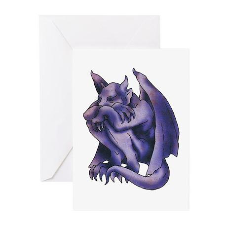 Gargoyle Tattoo Greeting Cards (Pk of 10)