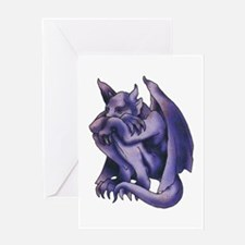 Gargoyle Tattoo Greeting Card