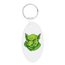 Green Gargoyle Tattoo Keychains