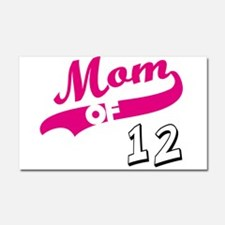 Funny Mothers day grandma Car Magnet 20 x 12