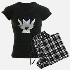 Peace Doves Tattoo Pajamas