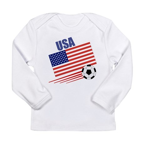 USA Soccer Team Long Sleeve Infant T-Shirt