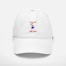 CAT-A-LYST FOR LOVE Baseball Baseball Cap