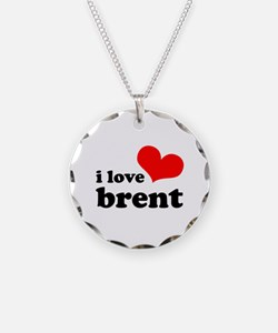 i love brent Necklace