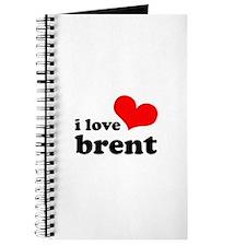 i love brent Journal