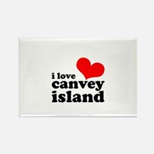 i love canvey island Rectangle Magnet