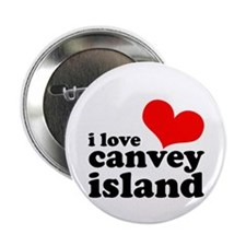 "i love canvey island 2.25"" Button"