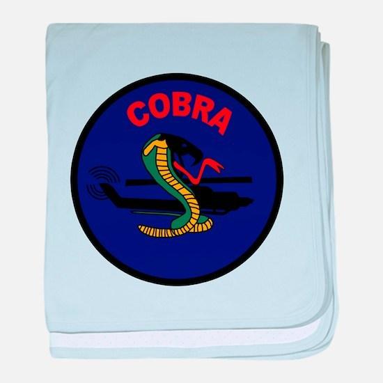 AH-1 Cobra baby blanket