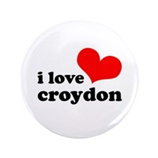 "i love croydon 3.5"" Button (100 pack)"