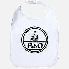 Baltimore and Ohio railroad Baby Bib