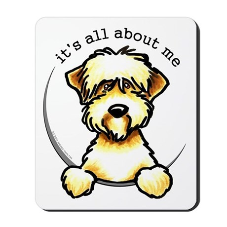 Funny Wheaten Terrier Mousepad