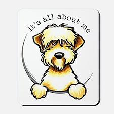 Funny Wheaten Terrier Mousepad