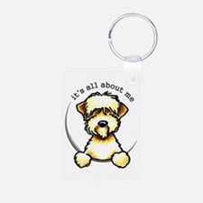 Funny Wheaten Terrier Keychains