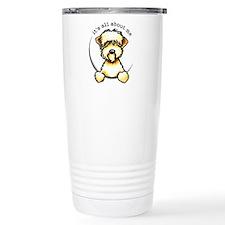 Funny Wheaten Terrier Travel Mug
