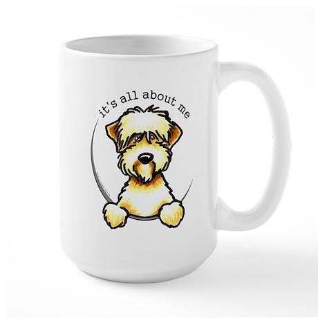 Funny Wheaten Terrier Large Mug
