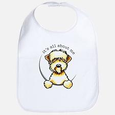 Funny Wheaten Terrier Bib