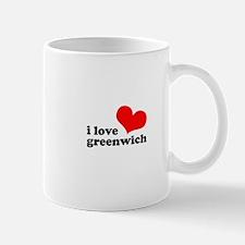 i love greenwich Mug