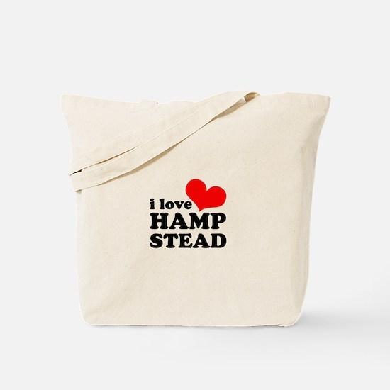 i love hampstead Tote Bag