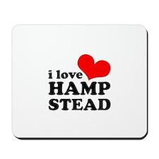 i love hampstead Mousepad
