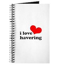 i love havering Journal
