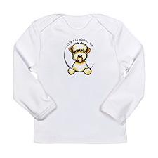 Funny Wheaten Terrier Long Sleeve Infant T-Shirt