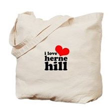 i love herne hill Tote Bag