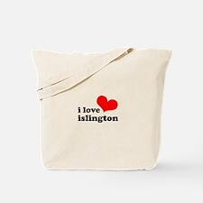i love islington Tote Bag