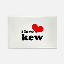 i love kew Rectangle Magnet