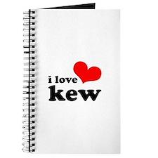i love kew Journal
