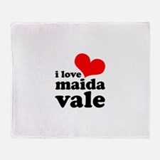 i love maida vale Throw Blanket