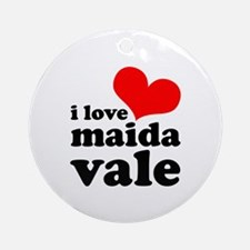 i love maida vale Ornament (Round)