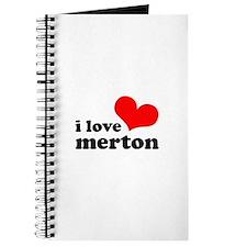 i love merton Journal