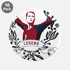 """Unique Legend 3.5"""" Button (10 pack)"""