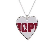 Unique American Necklace Heart Charm