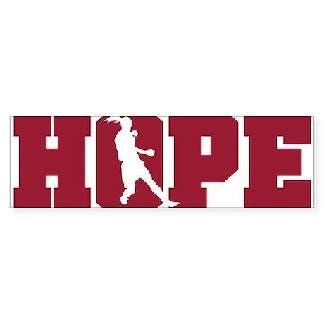 Hope Womens Soccer Bumper Sticker