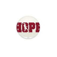 Cute Hope solo new american legend usa womens Mini Button (10 pack)
