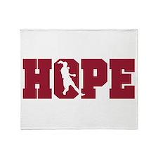 Unique Hope solo Throw Blanket